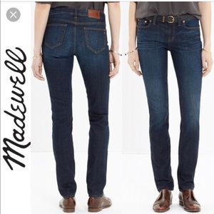 Madewell Alley Straight Jean in Waterfall